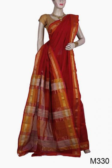 Exclusive Handloom Maheshwari Saree (M330)