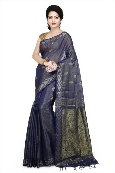 Fancy Silk - Zari Handloom Saree