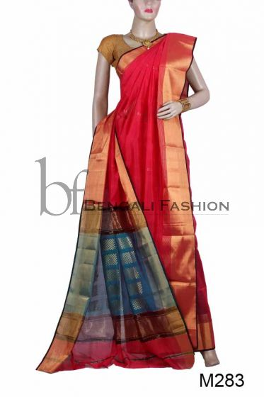 Exclusive Handloom Maheshwari Saree (M283)