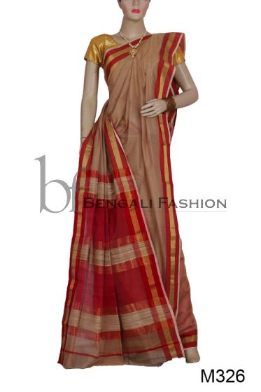 Maheshwari Handloom Mark Saree (M326)