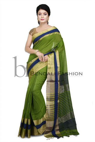 Maheshwari Pure Silk-Cotton Saree(M353)