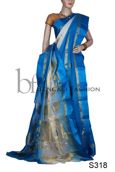 Exclusive Dual-color Handloom Silk(S318)