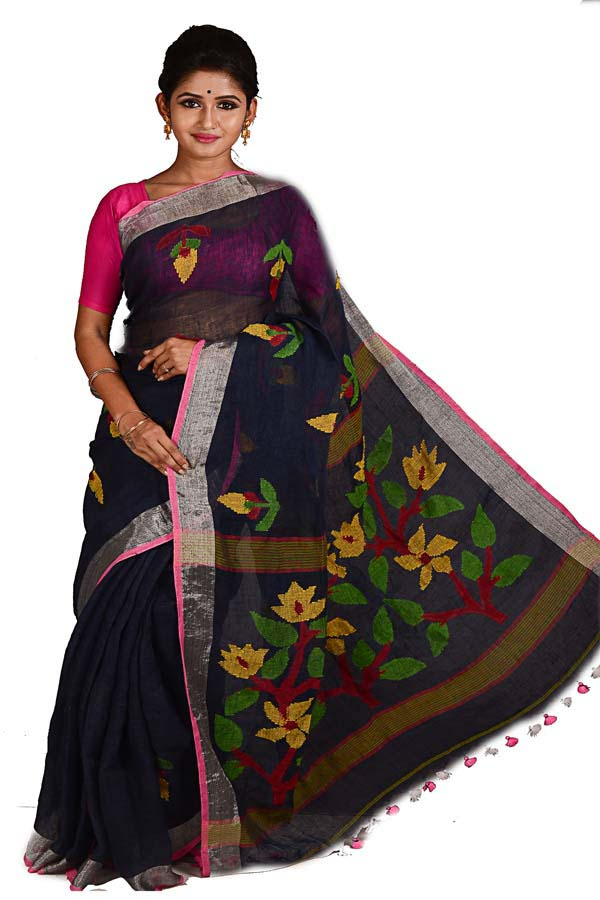 Love Bengali Sarees? Remember these 5 tips while buying yourself a Handloom Linen Saree