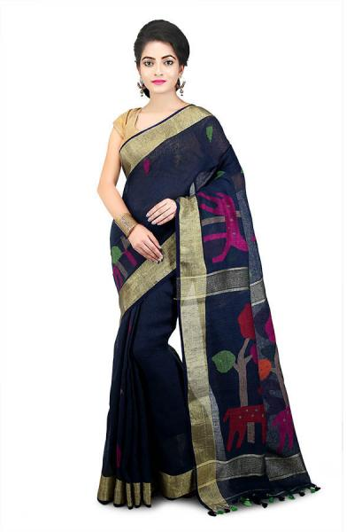5 Things you always want to know about Linen Sarees!