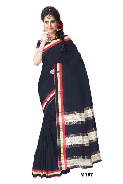Beat The Summer Heat with 4 Types of Blended Cotton Saree!
